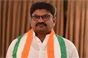 congress mla resign from party post after controversy over ministerial post