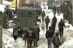 security forces begin search operation in budgam
