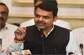fadnavis targeted the shiv sena  uddhav government s downfall begins