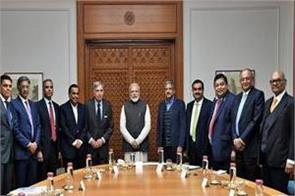 modi s meeting with ambani adani other industrialists