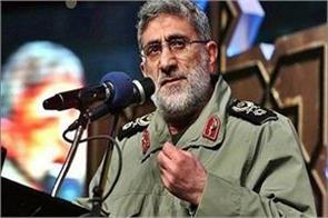 iran appointed ismail kani as the new commander of the quds force