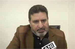 pdp leader altaf bukhari praised the central government
