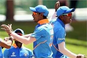 u 19 cwc india beat 3 time champions australia in quarter finals