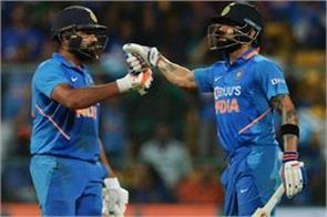 icc rankings kohli and rohit strong in top rankings bumrah top on bowling