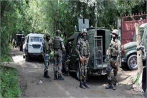 encounter with security forces in kashmir a terrorist killed