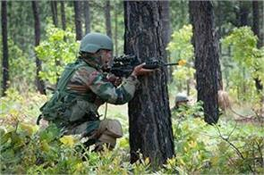 terrorists killed one soldier injured in j c encounter with security forces