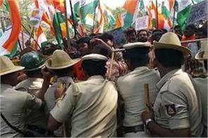 lathicharge on caa supporters in karnataka