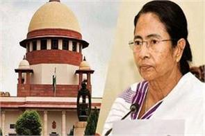 sc denies hearing on plea disqualifying bengal cm for rhetoric on caa