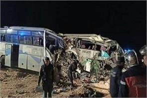 12 killed in bus accident in algeria