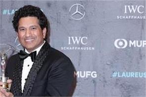 tendulkar honored with laureus 20 sporting moment 2000 2020 award