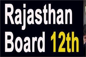 rajasthan board 2020 admit card released for 12th exam check exam dates