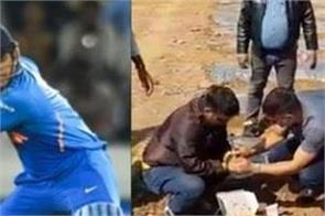 dhoni doing organic farming before landing in cricket shared video