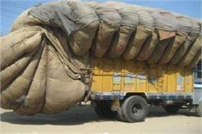 sdm tightens screws on overloaded vehicles imposes heavy fine