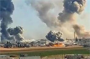 syria war air strikes on idlib killed 20 civilians