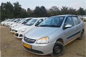 ola uber drivers protest against chandigarh administration