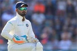 rahane breaks silence about rishabh pant before test series this big statement