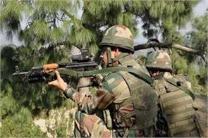 pak breaks ceasefire in poonch sector army gives a befitting reply
