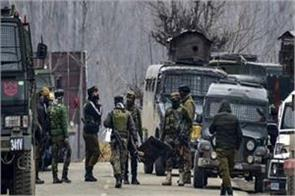 grenade attacked at crpf post in lal bazar one civilian injured