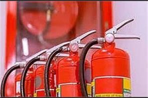 fire safety equipment is not available even in coaching centers