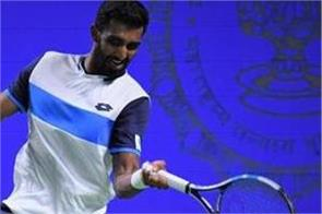 prajnesh exited tata open with defeat against sun woo