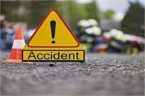 accident occurred due to roadside tractor overturning one killed 2 injured