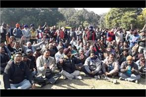 auto rickshaw workers union strike chandigarh administration is pushing