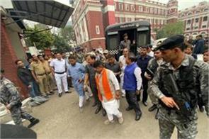 kolkata kailash vijayvargiya in police custody