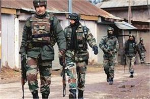 search operation of security forces in shopian