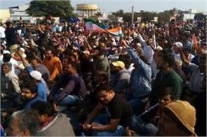 mandsaur protest caa continues 26th day agitators  we not proof patriotism