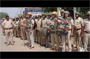 delhi violence haryana police issued advisory regarding law and order