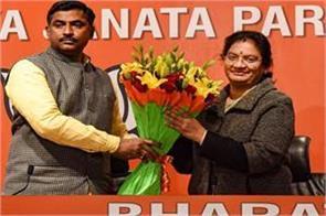 rajya sabha mp sasikala pushpa joins bjp aiadmk exits party