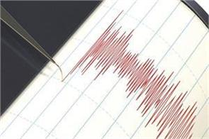 three tremors of earthquake felt in kutch district of gujarat in 14 hours