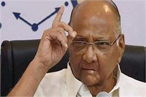 why not a trust for the ram temple or a mosque sharad pawar