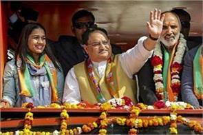 bjp will win more than 45 seats in delhi nadda