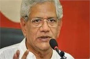 no political party behind shaheen bagh yechury