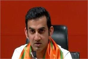 gautam gambhir on kejriwal s allegations on aap councilor