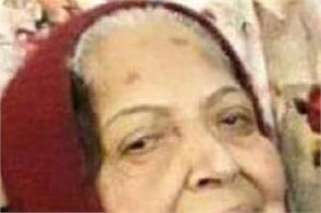 finance minister manpreet singh badal s mother harmandar kaur dies
