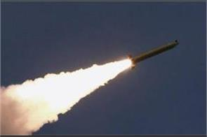 north korea launches two short range missiles into east sea