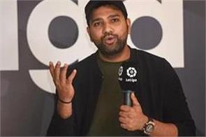 rohit sharma took a dig at icc said working from home is not so easy