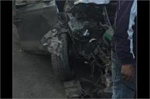 the animal came forward the car collided with the pole the young man died
