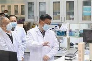china s xi jinping visits wuhan city at center of coronavirus