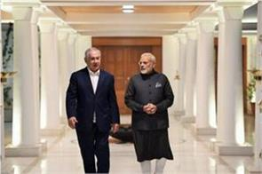 amidst the fear of corona netanyahu spoke to pm modi