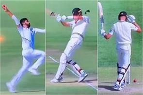 bumrah s bouncer hits on new zealand s kyle jamieson helmet video