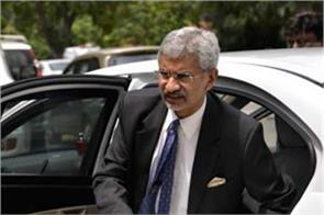 foreign minister jaishankar arrived on a sudden visit to kashmir