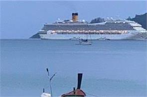 thailand and malaysia bar cruise ship over virus fears