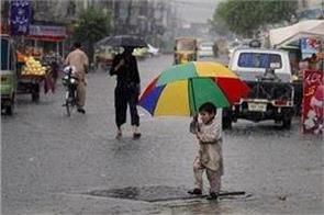 27 people died in rain related incidents in pakistan