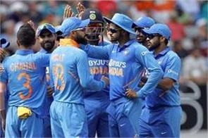 team india announced for odi series against africa whoever got a chance