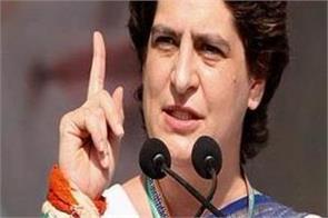 priyanka gandhi vadra taunts bjp anti farmer government