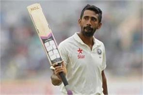 wriddhiman saha for not being selected in the team