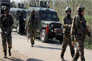 suspected terrorists shot dead a person in kashmir